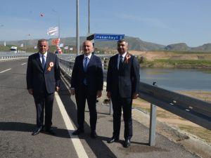 Cumhurbaşkanı Erdoğan, Hasankeyf-2 köprüsü açılışı gerçekleştirdi