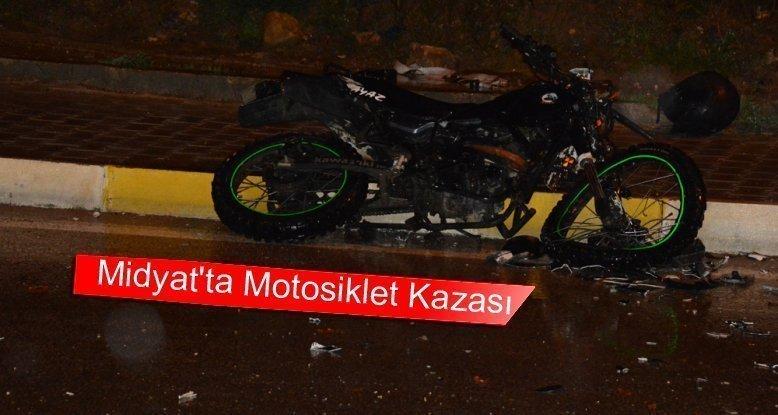 Midyat'ta Motosiklet Kazası