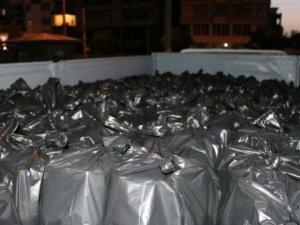 Midyat'ta 5 Bin 650 Şişe Kaçak İçki Ele Geçirildi