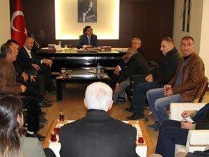 AK Parti Teşkilatından Kaymakam Tekine Ziyaret