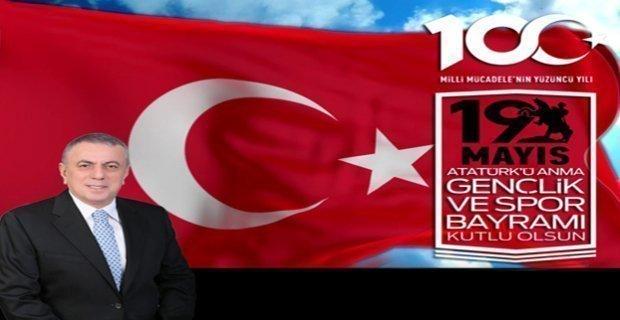 Midyat Belediye Başkanı Veysi Şahin, 19 Mayıs mesajı