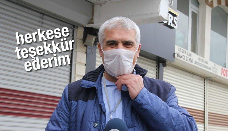 Emektar Gazeteci Selahattin Erol'den teşekkür mesajı.