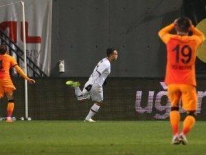 Galatasaray deplasmanda Karagümrük'e 2-1 yenildi.