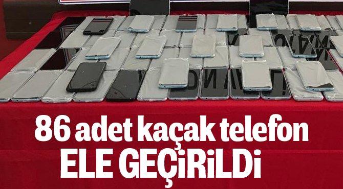 Jandarma'dan Kaçak Telefon baskını
