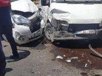 Artuklu'da zincirleme kaza: 7 kişi yaralandı