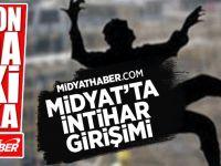 Midyat'ta İntihar Girişimi