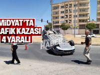 Midyat'ta Trafik Kazası 3 Yaralı