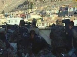 Derik'te sıcak çatışma görüntüleri